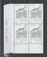 """FRANCE / 2020 / Y&T N° 5417 ** : """"Touristique"""" (Château Des Ducs De Bourbon à Montluçon - Allier) X 4 - CD 2020 07 16 (- - Ongebruikt"""