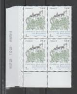 """FRANCE / 2020 / Y&T N° 5417 ** : """"Touristique"""" (Château Des Ducs De Bourbon à Montluçon - Allier) X 4 - CD 2020 07 16 (= - Ongebruikt"""