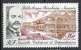 Nouvelle Calédonie - Neukaledonien - New Caledonia 1982 Y&T N°465 - Michel N°(?) *** - 36f Bibliothèque Bernheim - Used Stamps