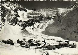 CPSM Grand Format MONTROC LE TOUR (Hte Savoie) Le Village Et Le Glacier En Hiver RV - Andere Gemeenten