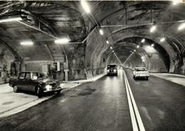 COURMAYEUR ENTREVES M 1381 Le Nouveau Tunnel Du M Blanc Longueur M 11600 Interieur Et Le Téléphone Voitures RV - Andere Steden