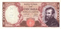 10000 LIRE MICHELANGELO / 20 MAGGIO 1966 / - 10000 Lire