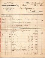 1897 MILANO - GAS E LUCE ELETTRICA , DONATI FERDINANDO - Italië