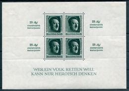 Deutsches Reich - Michel Block 11 Ungebr.*/MH - Blocks & Sheetlets