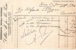 1910 FERRARA - VETRERIA, FERRAMENTA - Italië