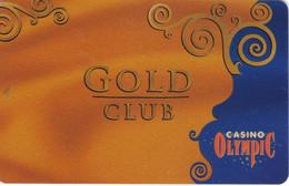 ESTONIA KEY CASINO  Gold Club  - TALLINN - Cartes De Casino