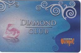 ESTONIA KEY CASINO  Diamond Club  - TALLINN - Cartes De Casino