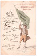 Souvenir Du Centenaire De L'Indépendance Vaudoise 1898 - édit. L. Magnenat & Fils  + Verso - VD Vaud