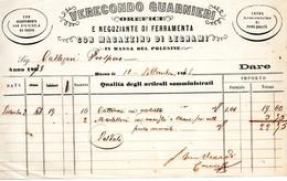 1878 MASSA DEL POLESINE, OREFICE - Italië