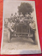 CARTE PHOTO   MILITAIRE  VÉHICULE VOITURE - To Identify
