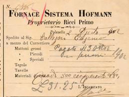 1902 POLESELLA - FORNACE - Italië