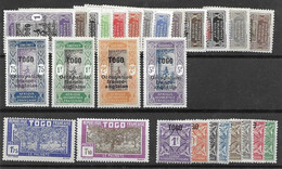 Togo LOW START Colonies Francaises En General Neuf Avec Charniere Mh * - Lot A 10 Cents Le Timbre - Unused Stamps