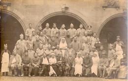 HÔPITAL MILITAIRE    PHOTO DE GROUPE - Weltkrieg 1914-18