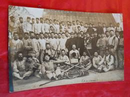 CARTE PHOTO  AVIGNON MILITAIRE ANCRE MARINE CORDAGES GILET SAUVETAGE - Weltkrieg 1914-18