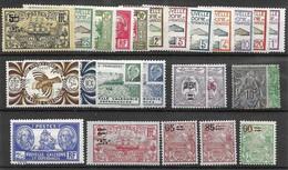 NC LOW START Colonies Francaises En General Neuf Avec Charniere Mh * - Lot A 10 Cents Le Timbre - Unclassified