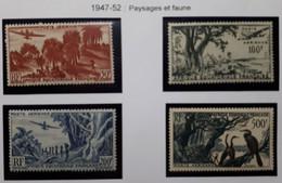 AEF 1947/1952 Série PA N° 50 à 53**/* - Unused Stamps