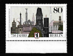 Berlin (West) / 750 Jahre Berlin / MiNr.  776 - Neufs