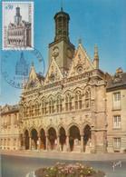 Carte  Maximum  1er  Jour    FRANCE    SAINT  QUENTIN    1967 - 1960-69