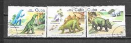 1985 CUBA  Mi Nr° 2921,2922,2923 (o) - Neufs