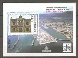 ESPAGNE 2006 - BF N° 147 ** MNH 2,93€  Exposition Algésiras  Cote 7 Euro TBE - Blocs & Hojas