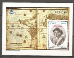 ESPAGNE 2006 - BF N° 146 ** MNH 2,39€  Christophe Colomb  Cote 7,5 Euro TBE - Blocs & Hojas