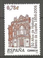 ESPAGNE 2006 - Yv. N° 3807  ** MNH  0,78€  Banque D'Espagne Cote 2,25 Euro TBE - 2001-10 Nuevos & Fijasellos