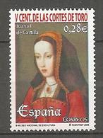 ESPAGNE 2005 - Yv. N° 3795  ** MNH  0,29€  Jeanne De Castille  Cote 0,9 Euro TBE - 2001-10 Nuevos & Fijasellos