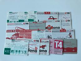 Metro Tikets Tickets Barcelona All Diferent - Europa