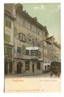 Schaffhausen - Zum Goldenen Ochsen - Old Switzerland Postcard - SH Schaffhouse