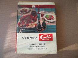 Agenda Codec - épicerie Codec - Turckeim - De 1963 - Alsace