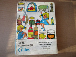 Agenda Codec - épicerie Codec - Turckeim - De 1968 - Alsace