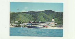 "AVION  - HYDRAVION - Antilles Air Boats "" Super Goose - Hydravion Atterissage Décollage !! Joli Plan Bon état - 1946-....: Era Moderna"