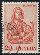 Schweiz 1961, MiNr 741, Gestempelt - Used Stamps