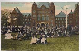 CPA Canada Toronto - Queen's Park - Circa 1910 - Non Circulée - Toronto
