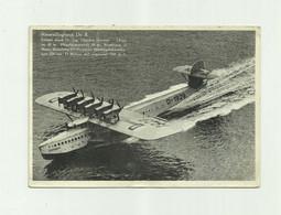 AVION  - HYDRAVION - Allemagne Dornier Riesenfluxboot  DO X  Gros Plan Format 10 X 14,5 Bon état - 1919-1938