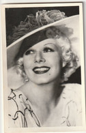 ARTISTES - JEAN HARLOW - Entertainers