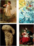 TABLEAUX - ART /  Lot 1000 C.P.M. Neuves - 500 Karten Min.
