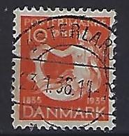 Denmark  1935  Hans Christian Andersen (o) Mi.224 (cancelled OSTERLARS) - Used Stamps