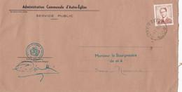Enveloppe Administration Communale D' Autre-Eglise - 1953-1972 Anteojos