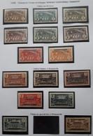 AEF 1936 Série N° 1 à 16**( Le16*) - Unused Stamps