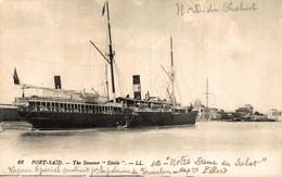"""N° 4953 Z -cpa Port Saïd -le Steamer """"Etoile"""" - Passagiersschepen"""