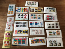Netherlands , 19 Different Minisheets, MNH. Cv Is About 95 Euro - Blocks & Sheetlets