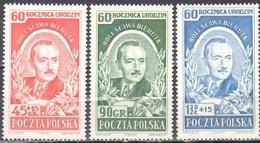 Poland 1952 - Pres. Boleslaw Bierut - Mi.732-34 - MNH(**) - Ongebruikt