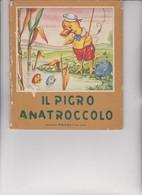 """LIBRO EDITRICE """" PICCOLI """"  . COLLANA : PICCOLI :  IL PIGRO ANATROCCOLO  .  ILLUSTRATO DA MARIA PIA. - Novelle, Racconti"""