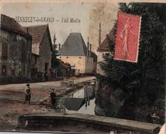 71 / SENNECEY LE GRAND / VIEIL MOULIN / TRES JOLIE CARTE COLORISEE - Other Municipalities