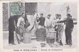 Camp De Mailly Corvée De Prisonniers - Kasernen