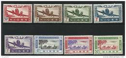 "Niger Aerien YT 10 à 17 (PA) "" Avions "" 1942 Neuf** - Non Classificati"