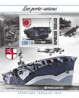 2020-10- TOGO- AIRCRAFT CARRIERS         1V  MNH** - Ships