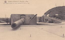 Knocke-sur-Mer Batterie Wilhelm II Canon - Weltkrieg 1914-18