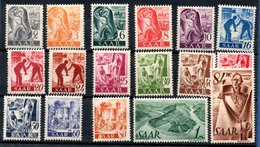 Sarre / Lot De Timbres / Etats Divers - Colecciones & Series